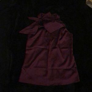 Maroon top from The Limited
